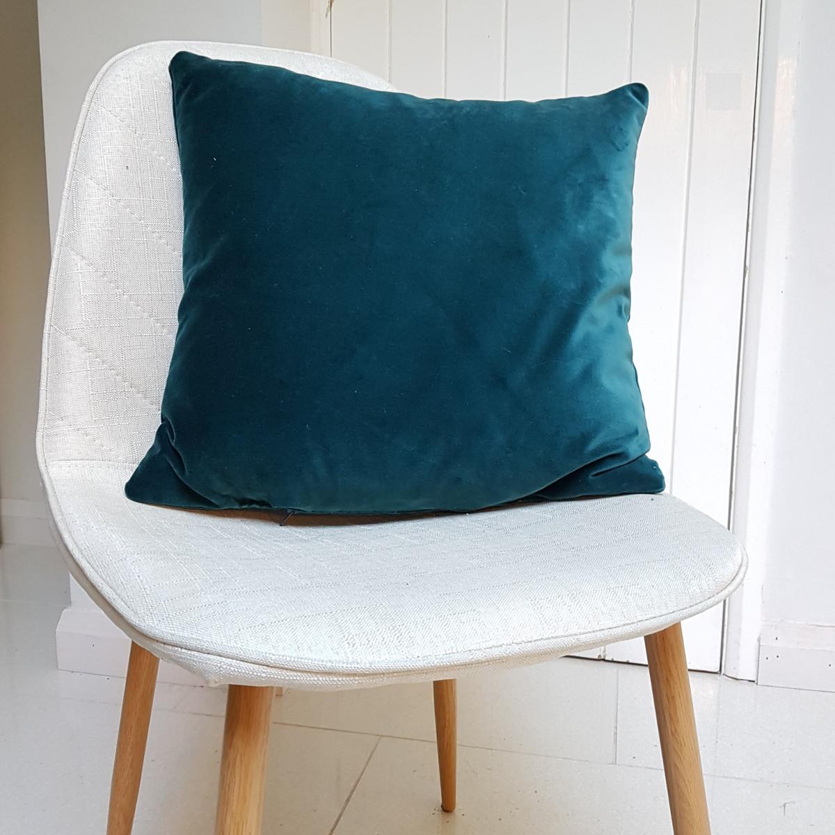 Blue Velvet Cushion Delaney Designs